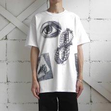 "画像11: NEW ""M.C. ESCHER"" Multi Print T-Shirts color : WHITE, BLACK size M, L, XL (11)"