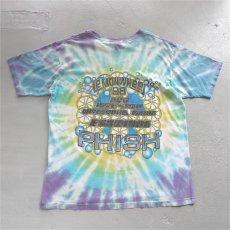 """画像2: 1990's """"PHISH"""" Lemonweel Tour Print T-Shirt TIE DYE size XL (2)"""