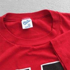 """画像2: 1990's """"FDNY"""" Print T-Shirt RED size L (2)"""