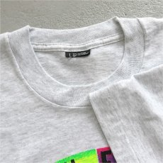 """画像3: 1990's """"BEVERLY HILLS 90210"""" Print T-Shirt ASH GREY size M-L (3)"""