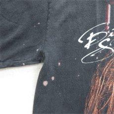 """画像3: 1990's~ NWO """"KEVIN NASH"""" Print T-Shirt BLACK size L (3)"""