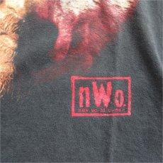 """画像5: 1990's~ NWO """"KEVIN NASH"""" Print T-Shirt BLACK size L (5)"""