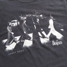 "画像4: 2000's ""THE BEATLES"" Print T-Shirt BLACK size L (4)"