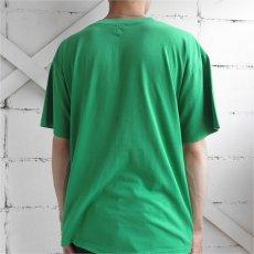 """画像5: 1990's """"YEAH-RIGHT"""" Print T-Shirt GREEN size M-L (5)"""