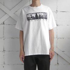 """画像4: 2000's """"NEW YORK CITY"""" Print T-Shirt WHITE size XL (4)"""