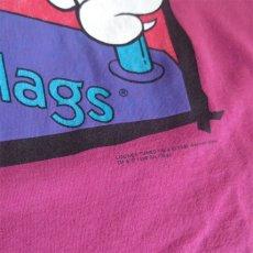 """画像6: 1990's SIX FLAGS """"LOONEY TUNES"""" Print Tank Top PINK size M-L (6)"""