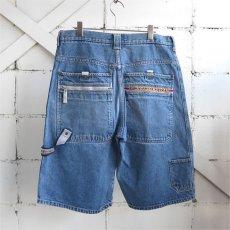 """画像2: 1990's """"PACO JEANS"""" Baggy Fit Denim Shorts BLUE DENIM size W34INCH (2)"""
