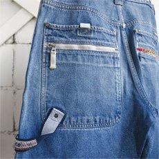 """画像6: 1990's """"PACO JEANS"""" Baggy Fit Denim Shorts BLUE DENIM size W34INCH (6)"""