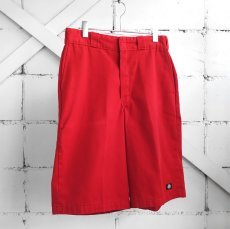 "画像1: ""Dickies"" Loose Fit Work Shorts RED size W32INCH (1)"