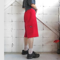 "画像4: ""Dickies"" Loose Fit Work Shorts RED size W32INCH (4)"