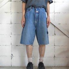 """画像3: 1990's """"PACO JEANS"""" Baggy Fit Denim Shorts BLUE DENIM size W34INCH (3)"""
