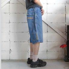 """画像4: 1990's """"PACO JEANS"""" Baggy Fit Denim Shorts BLUE DENIM size W34INCH (4)"""