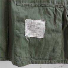 """画像8: 1960's """"U.S. ARMY""""  COTTON POPRIN JUNGLE FATIGUE JACKET size LARGE-REGULAR (8)"""