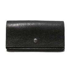 """画像2: """"JUTTA NEUMANN"""" Leather Wallet """"Waiter's Wallet"""" -長財布- color : Black / Purple (2)"""