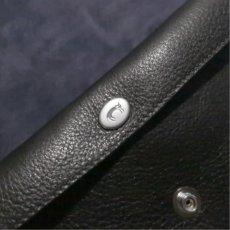 """画像12: """"JUTTA NEUMANN"""" Leather Wallet """"Waiter's Wallet"""" -長財布- color : Black / Purple (12)"""