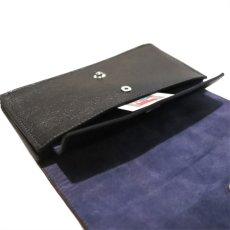 """画像9: """"JUTTA NEUMANN"""" Leather Wallet """"Waiter's Wallet"""" -長財布- color : Black / Purple (9)"""