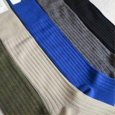 """画像3: Riprap """"Nz Merino Long Hose Socks"""" made by HALISON size MEN'S FREE (25~27cm) (3)"""