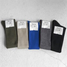 """画像5: Riprap """"Nz Merino Long Hose Socks"""" made by HALISON size MEN'S FREE (25~27cm) (5)"""