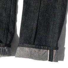 """画像10: Riprap """"Twisted Crease Jeans"""" -SLIM FIT- color : BLACK size W28~34INCH(XS~L) (10)"""