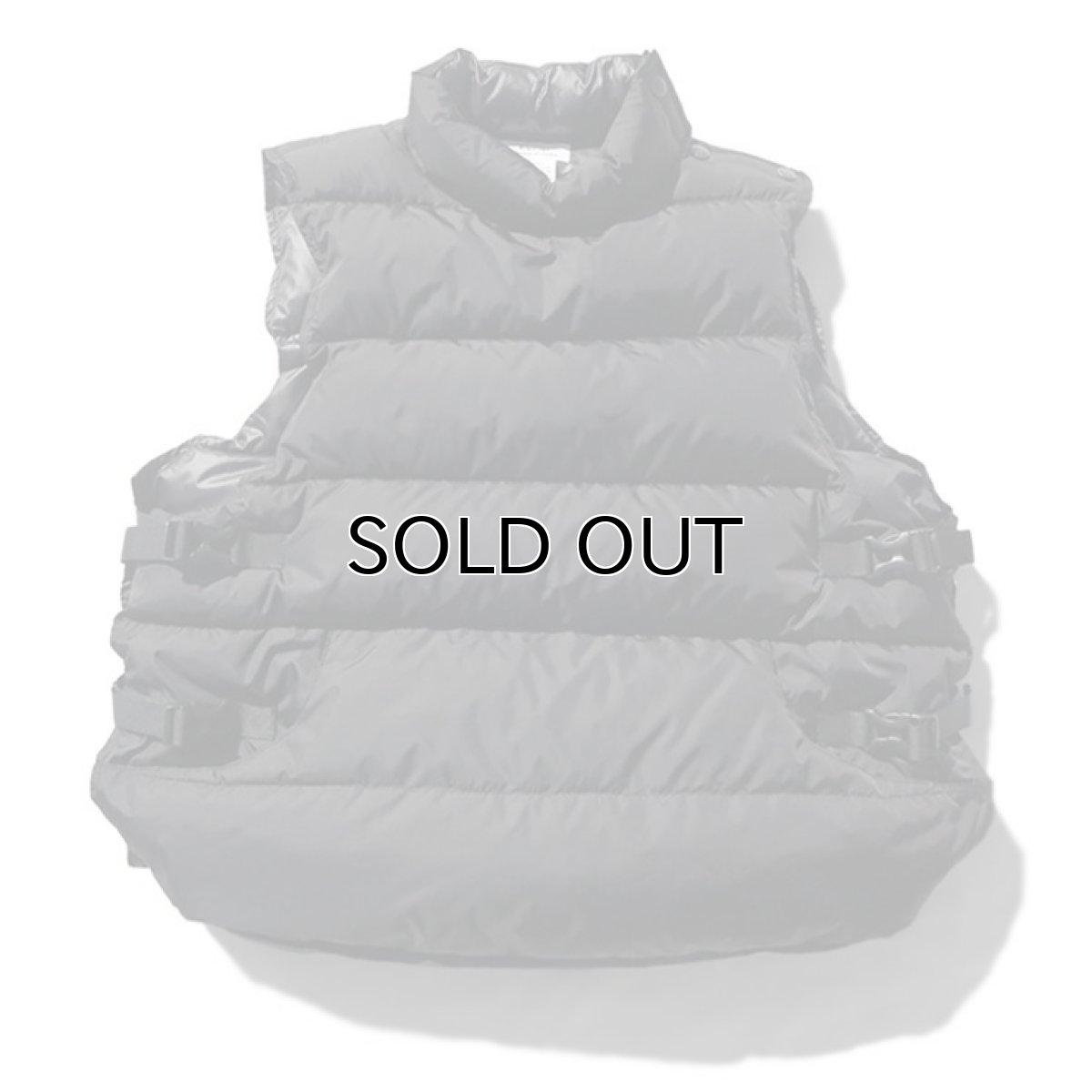 """画像1: Riprap """"Down Not Life Jacket"""" color : BLACK size LARGE (1)"""