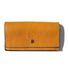 """画像1: """"JUTTA NEUMANN"""" Leather Wallet """"Waiter's Wallet"""" -長財布- color : MUSTARD / LIME YELLOW (1)"""