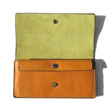 """画像4: """"JUTTA NEUMANN"""" Leather Wallet """"Waiter's Wallet"""" -長財布- color : MUSTARD / LIME YELLOW (4)"""