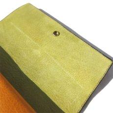 """画像8: """"JUTTA NEUMANN"""" Leather Wallet """"Waiter's Wallet"""" -長財布- color : MUSTARD / LIME YELLOW (8)"""