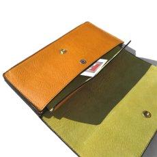 """画像7: """"JUTTA NEUMANN"""" Leather Wallet """"Waiter's Wallet"""" -長財布- color : MUSTARD / LIME YELLOW (7)"""