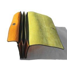 """画像5: """"JUTTA NEUMANN"""" Leather Wallet """"Waiter's Wallet"""" -長財布- color : MUSTARD / LIME YELLOW (5)"""