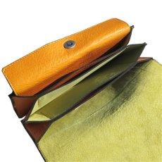 """画像6: """"JUTTA NEUMANN"""" Leather Wallet """"Waiter's Wallet"""" -長財布- color : MUSTARD / LIME YELLOW (6)"""