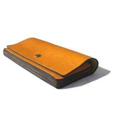 """画像3: """"JUTTA NEUMANN"""" Leather Wallet """"Waiter's Wallet"""" -長財布- color : MUSTARD / LIME YELLOW (3)"""