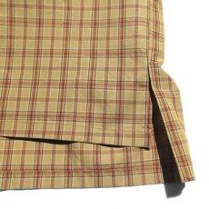 """画像7: Riprap """"S/S Semi Open Collar Shirt"""" -Plaid Broad-  color BEIGE/MINT size MEDIUM, LARGE, X-LARGE (7)"""