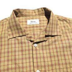 """画像3: Riprap """"S/S Semi Open Collar Shirt"""" -Plaid Broad-  color BEIGE/MINT size MEDIUM, LARGE, X-LARGE (3)"""