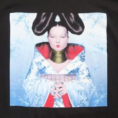 "画像2: NEW ""Bjork"" -HOMOGENIC- Art Work Print T-Shirt BLACK size L, XL (2)"