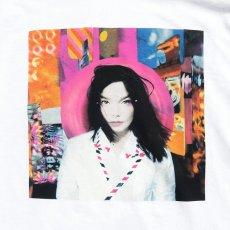 """画像2: NEW """"Bjork"""" -POST- Art Work Print T-Shirt WHITE size M, L, XL (2)"""