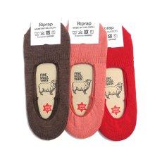 """画像1: Riprap """"OG Merino Invisible Socks"""" made by HALISON size MEN'S FREE (25~27cm) (1)"""