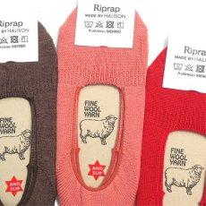 """画像3: Riprap """"OG Merino Invisible Socks"""" made by HALISON size MEN'S FREE (25~27cm) (3)"""
