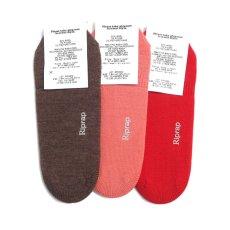 """画像2: Riprap """"OG Merino Invisible Socks"""" made by HALISON size MEN'S FREE (25~27cm) (2)"""