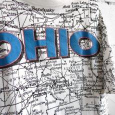 "画像2: 1990's U.S.A. ""OHIO"" Print T-Shirt WHITE size XL-XXL (2)"