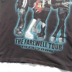 """画像6: 2000's """"KISS"""" World Tour Print T-Shirt BLACK size XL (6)"""
