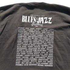 "画像6: 1990's ""BLUES & JAZZ FESTIVAL"" Print T-Shirt BLACK size XL (6)"