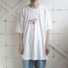 """画像2: 1990's U.S.A. """"MICKEY MOUSE"""" Print T-Shirt OFF WHITE size 3XL (2)"""