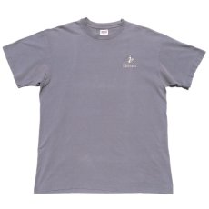 "画像1: 1990's ""OCEANUS"" One Point Logo T-Shirt GREY size M-L (1)"