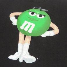 "画像6: U.S.A. ""M&M'S"" Character Print T-Shirt BLACK size XL-XXL (6)"