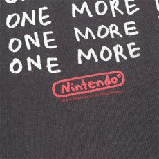 "画像5: ""Nintendo""任天堂 Slogan Print T-Shirt BLACK size L (5)"