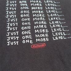 "画像4: ""Nintendo""任天堂 Slogan Print T-Shirt BLACK size L (4)"
