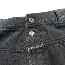 """画像5: """"MARITHE FRANCOIS GIRBAUD"""" Baggy Fit Cotton Twill Pants BLACK size W36INCH (5)"""
