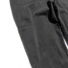 """画像9: """"MARITHE FRANCOIS GIRBAUD"""" Baggy Fit Cotton Twill Pants BLACK size W36INCH (9)"""