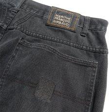 """画像4: """"MARITHE FRANCOIS GIRBAUD"""" Baggy Fit Cotton Twill Pants BLACK size W36INCH (4)"""
