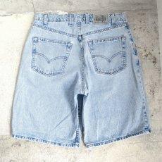 """画像4: 1990's Levi's """"SILVER TAB"""" Relaxed Fit Denim Shorts BLUE DENIM size W33INCH (4)"""